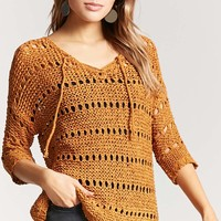 Pinhole Open-Knit Top