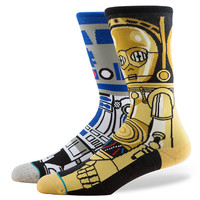 Stance Star Wars Droid Socks In Blue