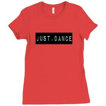 JUST DANCE Ladies Fitted T-Shirt