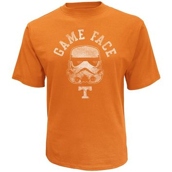 Star Wars College Tennessee Volunteers Stormtrooper Game Face Tee