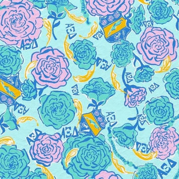 Lilly Pulitzer Sorority Canvas