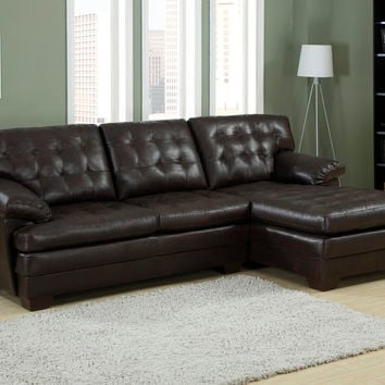 Shop tufted chaise on wanelo for Bellagio button tufted leather brown chaise