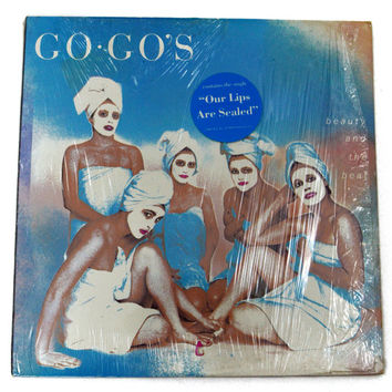 Vintage 80s The Go-Go's Beauty and The Beat Album Record Vinyl LP