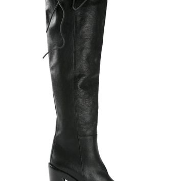 Ann Demeulemeester over the knee boots