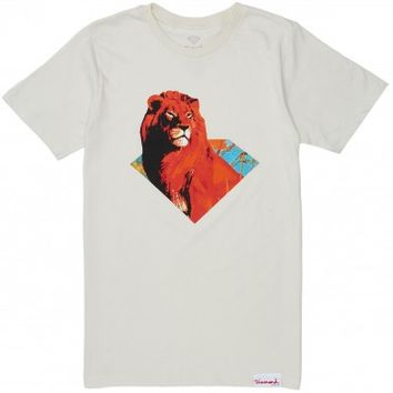 Diamond Supply Co. Africa T-Shirt - Cream