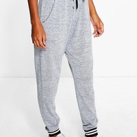 Harper Mono Cuff Knitted Joggers | Boohoo