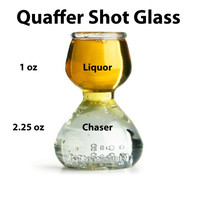 Plastic Quaffer Shot Glass - Shot with a Chaser (Set of 4)