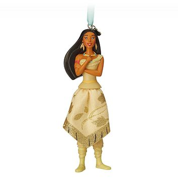 Disney 2018 Princess Pocahontas Sketchbook Ornament New with Tags