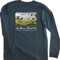 Southern Point - Signature L/S Tee Oil Painting
