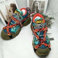 GUCCI GG  2020 NEW Latest  Women green Casual Shoes Sneaker Sport Running Shoes Slides Sandals Shoes Best Quality