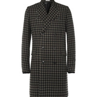 Paul Smith Houndstooth Check Wool-Blend Coat | MR PORTER