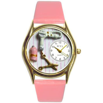 Beautician Female Watch Small Gold Style