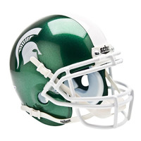 Michigan State Spartans NCAA Authentic Mini 1-4 Size Helmet