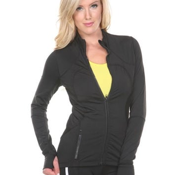 ANCHORA Active Outerwear - Black Jacket