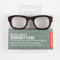 Kikkerland Retro Specs Contact Case Black/White One Size For Men 22079012501