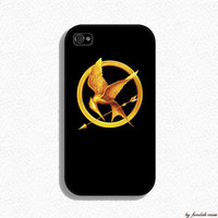 Product - Iphone Case - Hunger Games Design for Iphone 4 and Iphone 4s