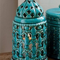 Buy Home Decor Online - Vases & Candlelight, Picture frames, Wall Art, Cushions, Throws, Window dressing, Decorative accents - Millen Lantern - EziBuy Australia