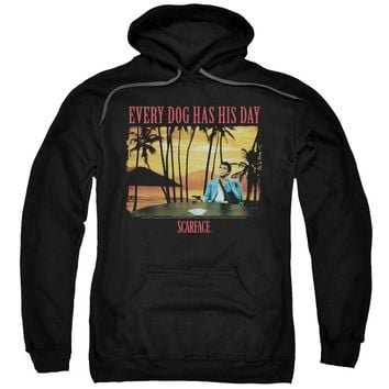 Scarface - A Dog Day Adult Pull Over Hoodie