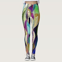 Portrait of a Phrenia Leggings