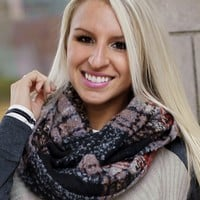 Multi Color Infinity Scarf - Piace Boutique