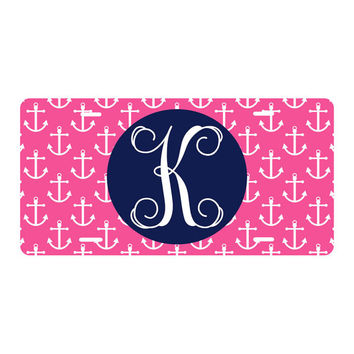 Monogrammed License Plate, Monogram License Plate, Monogram Car Accessories, Monogrammed Car