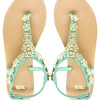 ASOS FETE Flat Sandals at asos.com