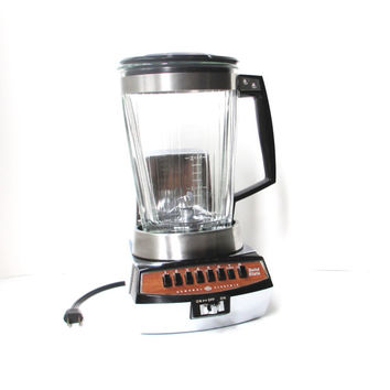 Vintage Blender, GE 8 Speed Solid State Electric Blender