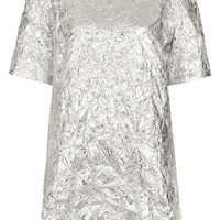 Topshop 'The Collection Starring Kate Bosworth' Metallic Dress | Nordstrom