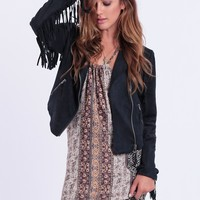 Western Ways Fringe Jacket