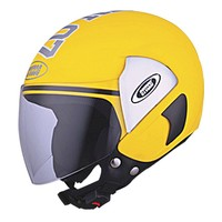 Studds - Open Face Helmet - Cub 07 Decor (Yellow) [Large - 58 cms]
