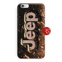 Dirty Classic Jeep Logo For iPhone 6 / 6 Plus Case