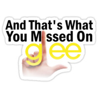 And That's What You Missed On Glee by DareBearEfron