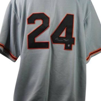 DCCKJNG Willie Mays Signed Autographed San Francisco Giants Baseball Jersey (Say Hey Authenticated)
