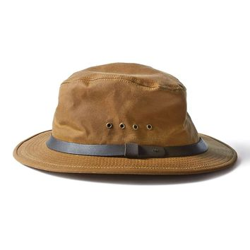 Filson Insulated Tin Cloth Packer Hat