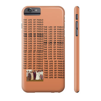Kanye West Yeezy Season 3 The Life Of Pablo TLOP IPhone Galaxy Phone Case - Case15