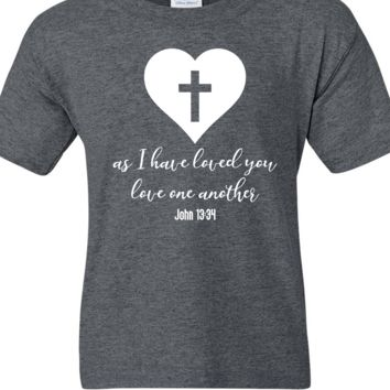 Christian Love Bible Verse Short Sleeve Shirt