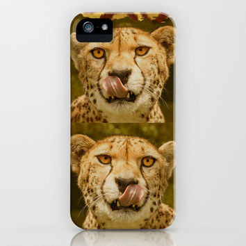 CHEETAH BEAUTY iPhone & iPod Case by Catspaws | Society6