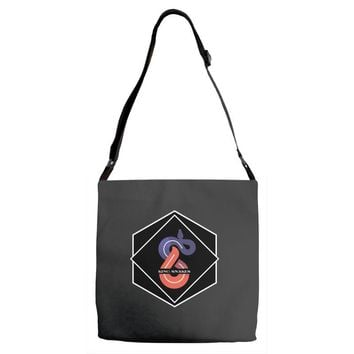 KING OF SNAKES Adjustable Strap Totes