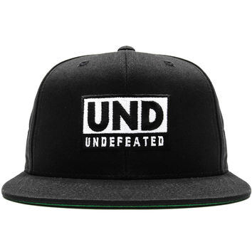 Undefeated - Grand Premio Snapback Cap (Black)