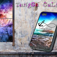 iphone case,anchor moon i refuse to sink,iphone 5 case,iphone 4/4s case,samsung s3,s4 case,accesories,cell phone,hard plastic.