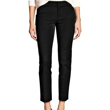 Banana Republic Womens Factory Sloan Fit Crop