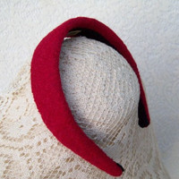 Red Winter Headband Classic