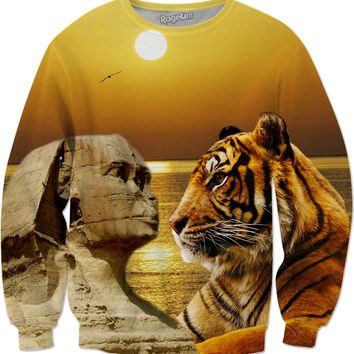 Tiger and Sphinx Sweatshirt