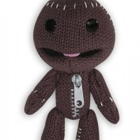 "Little Big Planet - Plush Doll / Figurine (Happy Sackboy) (Size: 7"")"