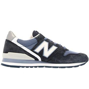 New Balance M996cpi Navy White Suede Mens Running Shoes Made In Usa