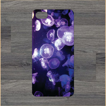 Jellyfish 4/4S 5/5C 6/6+ Case and Samsung Galaxy S3/S4/S5