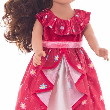 Little Adventures Spanish Princess Doll Dress
