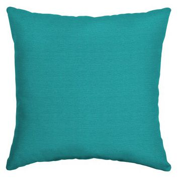 Mainstays 16in Outdoor Patio Toss Pillow, Turquoise - Walmart.com