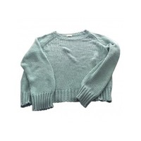Turquoise Cotton Knitwear DRIES VAN NOTEN