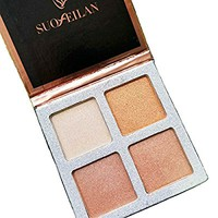 Beauty Glazed Multi-effect Quadra Eyeshadow Highlighter Powder Make Up Palettes Eyeshadow Palette Highlight Cosmetic